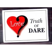 Love Truth or Dare Card Game Thats All About Love