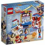 Конструктор ЛЕГО Супер Хироу Гърлс - Общежитието на Жената чудо - LEGO DC Super Hero Girls, 41235