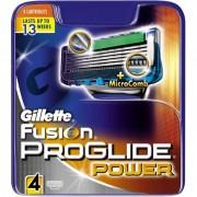 Gillette Fusion Proglide Power Barberblade 4 stk Razor Blades
