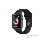 Apple Watch Series 3 GPS, 38mm, astro-sivi aluminijski sa crnim sportskim remenom