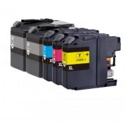 (5pack) BROTHER LC525 LC529 multipack - kompatibilné náplne do tlačiarne Brother