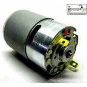 Invento 2pcs 6V - 12V DC Motor 9500 RPM 3.2 Kg-cm Multi-Purpose PCB Drill RC Cars Airplane