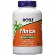 NOW Foods Maca 500mg 250 Vcaps
