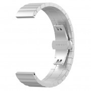Stainless Steel Solid Chain Watch Band Replacement for Huawei Smart GT - Silver