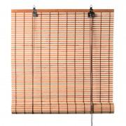 Xenos Rolgordijn bamboe - lichtbruin - 90x180 cm