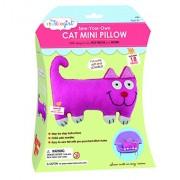 My Studio Girl Sew-Your-Own Flatsie Mini Cushion Kit, Cat
