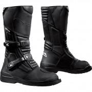 Forma Motorrad-Stiefel lang Motorrad-Schuh Cape Horn Waterproof Stiefel schwarz 48 schwarz