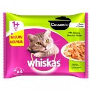 Whiskas® Casserole Mix Selectie in Gelei 1+ Jaar 4 x 85 g