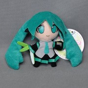 "Hatsune Miku Plush 4""/10cm Suction Cup Wall Doll Stuffed Animals Cute Soft Anime Collection Toy"