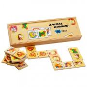 Fa dominó játék, állatok