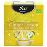 Yogi Tea - Ginger Lemon, 12 pliculețe