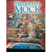 The Art of Barbara Mock Country Hideaway Jigsaw Puzzle