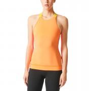 adidas Women's Stellasport Gym Tank Top - Orange/Pink - S/UK 8-10 - Orange