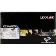 Lexmark C734A1CG azuriu (cyan) toner original