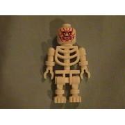 Lego Halloween Monster Skeleton with red slashes minifigure