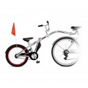 Bicicleta Co-Pilot WeeRide, manerele se pliaza usor, volan si sezut reglabil