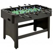 vidaXL fekete csocsóasztal 118 x 95 x 79 cm