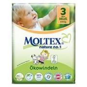 Scutece Eco pentru Bebelusi 4-9kg Nr.3 Moltex 34buc