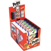 Pritt Sticks - 24 x 22g Tubs of Glue Stick. For paper, cardboard and photos.