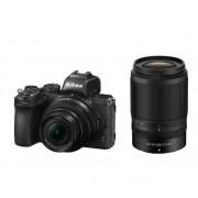 Aparat Foto Mirrorless Nikon Z50, 21MP, 4K, Wi-Fi, Bluetooth + Obiectiv NIKKOR Z DX 16-50mm f/3.5-6.3 VR + Obiectiv NIKKOR Z DX 50-250mm f/4.5-6.3 VR(Negru)