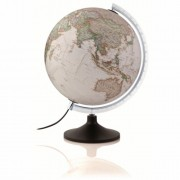 Wereldbol - globe 12 Carbon Antiek   National Geographic