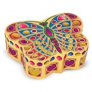 Melissa & Doug Peel & Press Sticker by Number - Butterfly Treasure Box