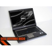 "Laptop Dell D830 15.4"" Core 2 Duo T7500 2.2 GHz 2GB DDR2 80GB DVD-RW"