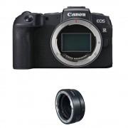 Canon EOS RP Aparat Foto Mirrorless 26.2MP Full Frame 4K Body Kit cu Inel Adaptor Montura EF la EOS R
