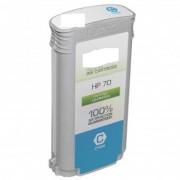 Hp CARTUCCIA HP 70 C9452A CIANO COMPATIBILE PER HP DESIGNJET Z2100 Z3100 Z3200 Z5200 Z5400 220ml Pigment