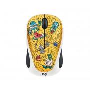 Logitech Doodle Collection - M238 Wireless Mouse - GO-GO GOLD [910-005056] (на изплащане)
