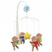 Carusel Muzical Pentru Patut Calm Baby - Star Bears