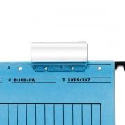 SUPORT PLASTIC ETICHETE PT. DOSARE SUSPENDABILE, FALKEN transparent Etichete dosare supendabile