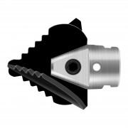 Křížový listový vrták- 22 mm