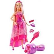 Papusa Barbie Endless Hair Kingdom Snap 'n Style Princess
