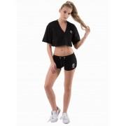 Gym King Logo Shorts Dames - Zwart - Dames