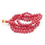 Red Coral Beads Gemstone Mala 100% Original Certified Moonga Mala Jaipur Gemstone