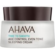 Ahava Time To Smooth Age Control Even Tone Sleeping Cream 50 ml