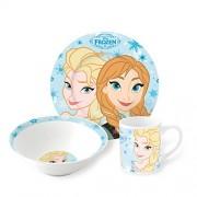 Disney Frozen Breakfast / Dinnerware Set Anna And Elsa