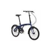 Bicicleta Dobrável Durban Eco Azul