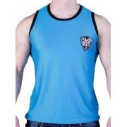 Good Boy Gone Bad VI9 Rigis Mesh Muscle Tank Top T Shirt Dark Blue