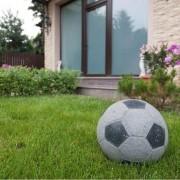 Decor Gradina Granit Padang Dark - Minge Fotbal 25 cm