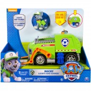 Paw Patrol Lights & Sound Feature Vehicle - Rocky
