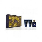Versace Pour Homme Dylan Blue Set - Eau de Toilette 50 ml + Balsamo Dopobarba 50ml + Gel