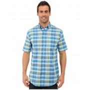 Pendleton SS Seaside Button Down Shirt BlueGreen