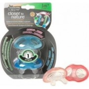 Jucarie bebelusi Tommee Tippee Closer to Nature Blue Gingival Ring Step 1