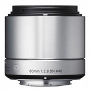 Sigma 60mm F2.8 DN Art Obiectiv pentru Sony E Argintiu