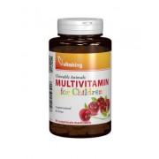 Multivitamine cu minerale pentru copii - 90 comprimate mesticabile
