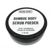 Natural Heroes Bamboe BODY Scrub Poeder (50 ml)