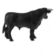 MagiDeal Realistic Animal Model Figures Kids Educational Toy Gift - Black Bull