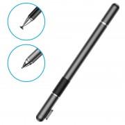 Baseus 2-in-1 Capacitive Touchscreen Stylus and Ballpoint Pen - Black
